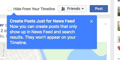 hide from your timeline Facebook